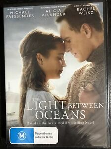 The Light Between Oceans DVD 2017 Brand New & SEALED Region 4