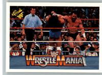 1990 Classic WWF WWE History of Wrestlemania #63 Ultimate Warrior Hercules