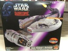 Star Wars Kenner SOTE Dash Rendar's Outrider Vehicle 1996 Purple Box
