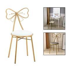 Vanity Stool Chair Gold Glam Dressing Room Make-up Padded Stool Bedroom Bathroom