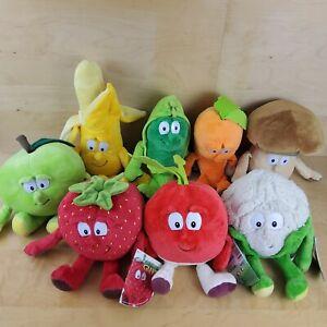 GOODNESS GANG CO-OP FRUIT VEGETABLES SOFT TOY PLUSH MULTI LISTING