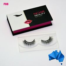 F8B - 100% MINK EYELASH EXTENSIONS - 3D, Luxury, Natural, Reusable, Long Lashes