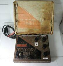 Vintage Electro Harmonix Deluxe Memory Man Delay FX Pedal 2-Prong 80's w/OG Box