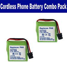 1X3-2/3AAA/B  -  3.6V, Ni-MH 350mAh Cordless Phone Replacement Battery 2 Pack