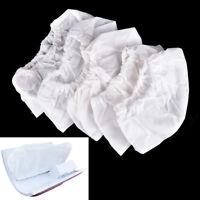 5Pcs weiße nichtgewebte Ersatzbeutel für Nagel-Kunst-Staubabsaugung G3D
