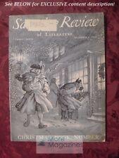 Saturday Review December 1 1951 PAR LAGERKVIST VAN WYCK BROOKS