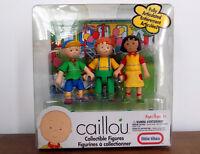 PBS CAILLOU Poseable CAILLOU figure SARAH Sara figure LEO Figure toy RARE ~ NEW!