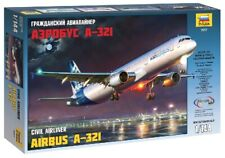 Airbus A-321 Civil Airliner 1:144 Plastic Model Kit ZVEZDA