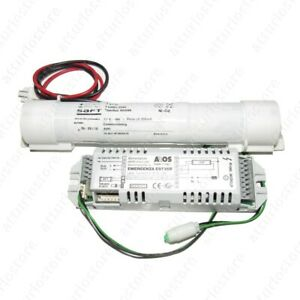 Inverter Lamps Fluorescent 4 - 58W + Battery 3,6V 4Ah Replacement Lamps Em