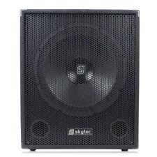 """Skytec 15"""" Inch Subwoofer PA DJ Disco Low Pass Filter Bass Speaker 600w SMW15"""