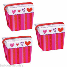 6 Valentine's Day Heartfelt Wishes Love Hearts Party Gift Favour Boxes Pails