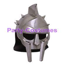 Medieval Helmet of the Spaniard Maximus Roman Gladiator 18 Gauge Knight Armour
