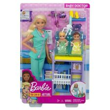 New Career Barbie Doll Doctor With Twin Babies Rare You Can Be Anything Restock