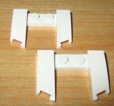 Lego Basic - Wedge Schräg Platte 3x4x2/3 in Weiss - 2 Stück - 11291