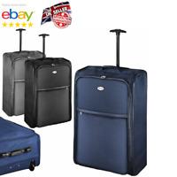 """Extra Large Foldable Suitcase 30"""" Lightweight Wheeled Travel Bag Case Luggage UK"""