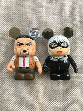 Disney Vinylmation Marvel Series 2 Black Cat & J Jonah Jameson Lot