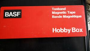 BASF / Tonband Hobby Box/ Bandcutter / gebrauchter Zustand / Konvolut /