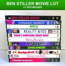 11 DVD Lot Ben Stiller Movies Show Zoolander Hutch Fockers Comedy De Niro Jack