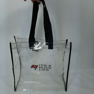 NWT Tampa Bay Buccaneers clear stadium/tote bag