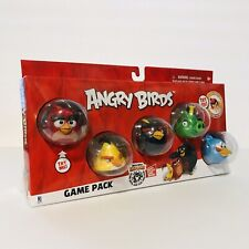 Angry Birds Game 5 Pack Red, Bomb, Chuck, Blue Bird & King Leonard New