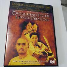 Crouching Tiger, Hidden Dragon (Dvd, 2001, Special Edition) Chow Yun Fat