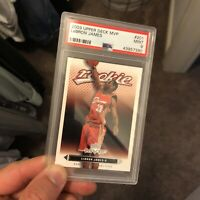 Lebron James Upper Deck MVP Rookie Card PSA 9 MINT RC Hot Investment 🔥📈