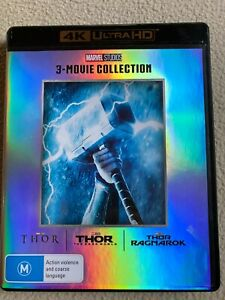 THOR 3 Movie Collection 4K Ultra HD Region B as new
