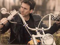 Nicolas Cage Autograph Ghost Rider 8x10 Signed Photo w/ COA Marvel Disney