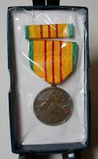 "VIETNAM SERVICE MEDAL SET INCLUDES RIBBON, ORIGINAL IN BOX ""1969"" NOT 2nds! NEW!"