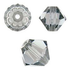 Swarovski Crystal Bicone.Black Diamond 6mm. Approx. 48 PCS. 5328