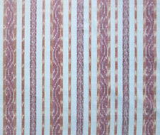 2½ Yards, Hand-Dyed & Hand-Woven, Cotton Ikat. Red, Artisan, Homespun Fabric