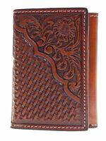 Nocona Tri-Fold  Mens Western Wallet Pro Series Collection
