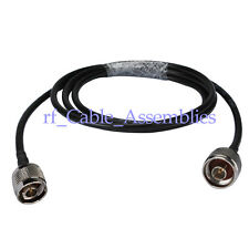 WLAN Antenna pigtail N-Type Plug Male to N Male Wireless Coax RF Cable KSR195 2M