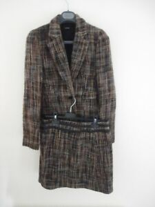 Joseph brown women's jacket with skirt