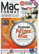 MAC FORMAT, JUNE, 2013 ( FOR ALL YOUR APPLE NEEDS ) 30 MINUTES TO A FASTER MAC