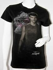 THE TWILIGHT SAGA Eclipse JACOB Black T-SHIRT Top COTTON L Juniors TULTEX