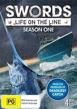 Swords - Life On The Line : Season 1 (DVD, , 4-Disc Set) NEW *