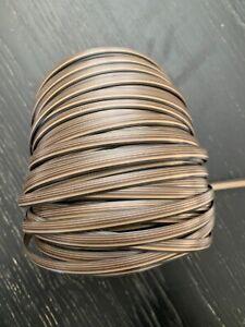 Plastic Wicker Dark Brown Strip 7.00mm 375 ft
