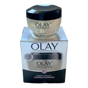 Olay, Total Effects 7 In 1 Night Cream 1.7 Oz (50 g.) New With Box