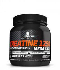 Olimp Creatine Mega Caps 1250 Kreatin Monohydrat 400 Kapseln