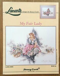 "Lanarte Counted cross Stitch Chart "" My Fair Lady "" by Stoney Creek"