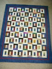 Inside Out Patchwork Throw Quilt