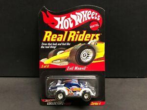 """Hot Wheels RLC, Real Riders Evil Weevil """"Volkswagen Bug"""" #07991 / 11000."""