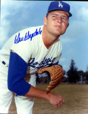 2 -  Autographs on 8 x 10 Glossy Photo of Don Drysdale - Los Angeles Dogers