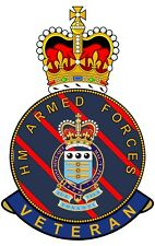RAOC Royal Army Ordnance Corps HM Armed Forces Veterans Clear Cling Sticker