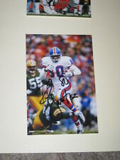 Denver Broncos ROD SMITH Signed 4x6 Photo NFL AUTOGRAPH
