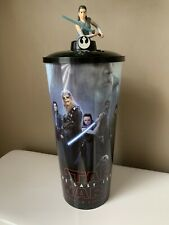 2017 Star Wars: The Last Jedi Promotional Movie Theater Cup With Rey Topper