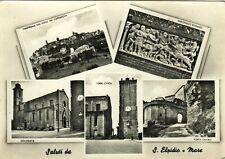 Z15900-SALUTI DA S. ELPIDIO A MARE, CINQUE VEDUTE, FERMO, 1957