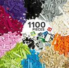 1100 Piece Building Bricks Kit Pastel Colors - Compatible with All Major Brands