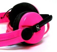 Custom Cans UV Neon Pink Sennheiser HD25 DJ Headphones with 2yr warranty